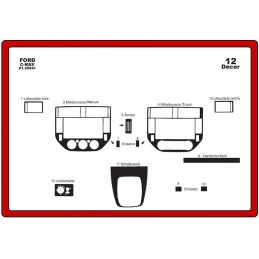 Trims dashboard for FORD C...