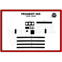Trims dashboard for PEUGEOT...