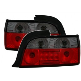 Taillights led BMW series 3 E36 Cup/convertible - red smoked