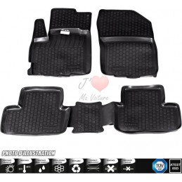 Rug rubber Fiat 500