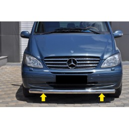 Bar alu of protection before Mercedes Vito
