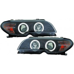 Headlights angel eyes BMW series 3 E46 Cabriolet Cup