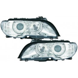 Front BMW E46 cutting Cabriolet XENON lights