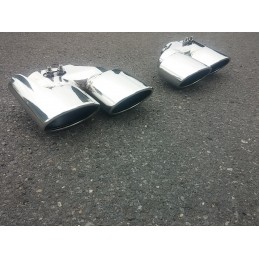 Double exits C63 AMG sport exhaust