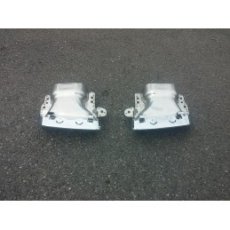 Dual exit exhaust Mercedes class S W221 AMG