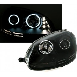 LED Golf 5 look xenon front lights
