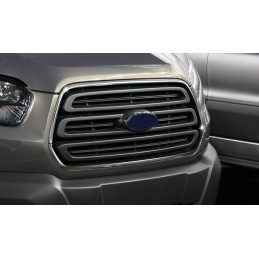 Added chrome grille Ford Transit