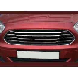 Added chrome grille Ford Tourneo Courier