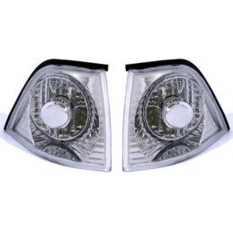 Pair of BMW 3 Series E36 Coupe Crystal V2 Chrome Turntables