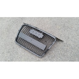 Audi A3 RS3 painted black grille