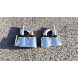 Sortie embout chrome S65 AMG mercedes classe S W221