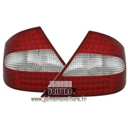 Rear lights to leds Mercedes CLK W209 tuning led headlights
