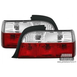 Lights rear BMW E36 Crystal Red White 224