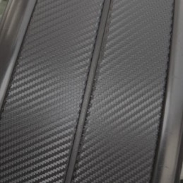 Carbon Wrapping 3D sticker