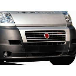 Wand of grille chrome aluminum 6 Pcs stainless FIAT DUCATO