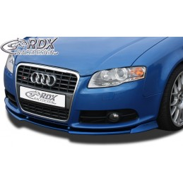 Blade of bumper sport AUDI A4 B7 8 H convertible 2005 + front / S4 Cabriolet 2005 + (S-Line and S4)