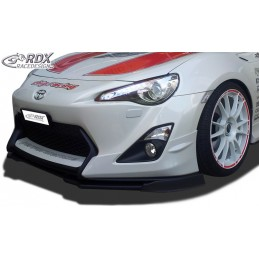 Blade of bumper sport TOYOTA GT86 front (model with Aero-Kit / Aero-front)