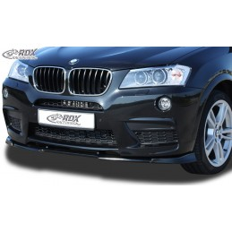 Hoja 's tope antes sport BMW X 3 F25 Pack M-2014