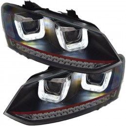 Headlights fronts led VW Polo 6R RED LINE GTI