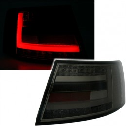 Taillights tube led Audi A6 tuning, not expensive