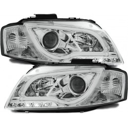 Front headlights led tube DRL Audi A3 8 p xenon look