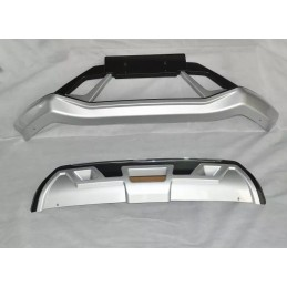 Added front bumper and rear Nissan Qashqai 2016