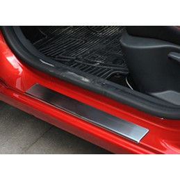 Set of 4 thresholds of doors for Renault Clio 4 5 p