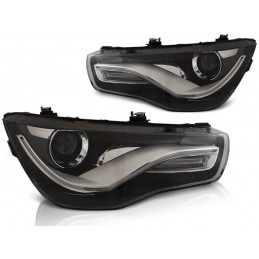 Headlights fronts led Audi A1 2010-2014 look xenon