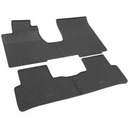 Rug rubber Honda CR - V III RE1-RE5/RE7 with tunnel-06-11