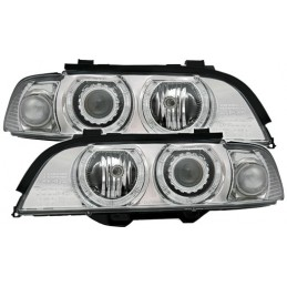 Front lights BMW series 5 E39 angel eyes