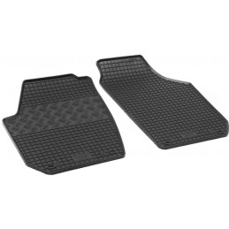 Tapis caoutchouc Skoda Roomster I 5J 2 places 06-