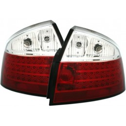 Taillights led Audi A4 B6 white red 88