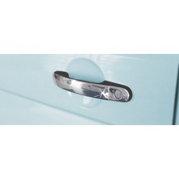 Covers VW T5 CARAVELLE 2010 chrome door handle-