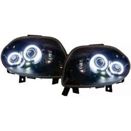 Headlights Angel eyes CCFL Renault Clio fronts