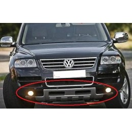 Addition of VW Touareg front bumper