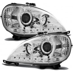 Front lights Mercedes ML W163 tuning
