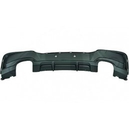 BMW 1 Series Performance Rear Bumper Diffuser - DOUBLE 2x2