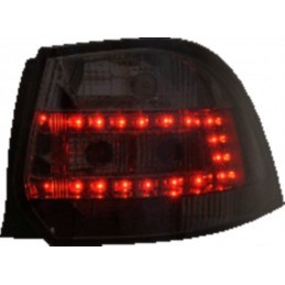 LED Rear Lights Red for Golf 5 6 Break - Smoked