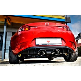Kit sport exhaust silencer + diffuser for Mazda MX5 ND