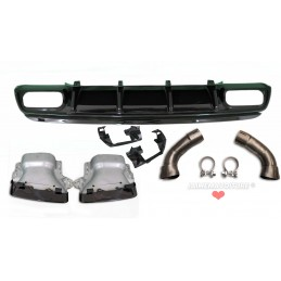 Difusor kit Mercedes Clase A A45 AMG lifting tips negro