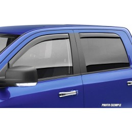 Front deflectors / rear SSANGYONG ACTYON SPORTS after 2007