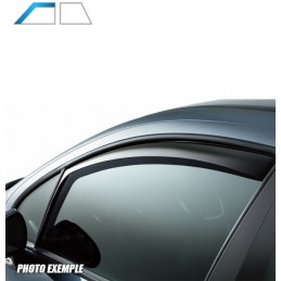 Front deflectors TOYOTA PRIUS VI 5 doors after 2010