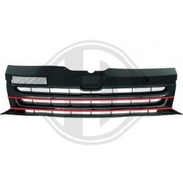 Black Red grille VW T5 2009-2015