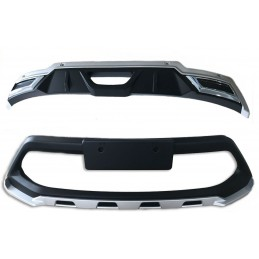 Addition of front bumper rear Toyota CHR