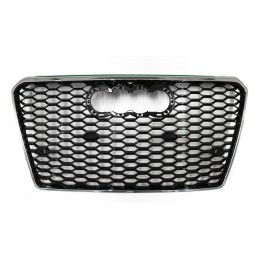 Black grille for Audi A7 RS7 2010-2014 chrome look