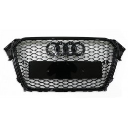 Black grille for Audi A4 B8 2012-2015 RS4 look
