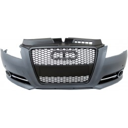 Grille for Audi A3 type Audi RS3 black