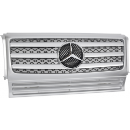 Sport grille for Mercedes class G 3 bars - gray