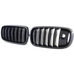 Grille for BMW X 5 X 6 - painted black