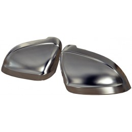 Aluminum rearview mirror covers for Audi A4 S4 and A5 S5